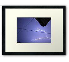 Storm Chase 2011 99 Framed Print