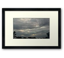 Storm Chase 2011 105 Framed Print