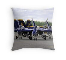 The Blue Angels Throw Pillow