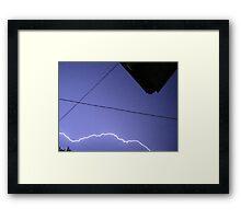 Storm Chase 2011 115 Framed Print
