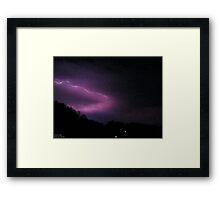 Storm Chase 2011 117 Framed Print