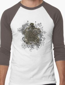 The Steampunk Owl Men's Baseball ¾ T-Shirt