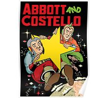 Abbott and Costello in Space Poster
