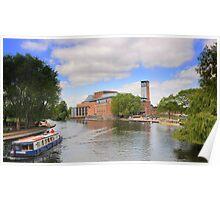 RSC Theatre, River Avon, Stratford Upon Avon, Poster