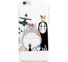 Studio Ghibli Gang Totoro iPhone Case/Skin