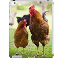 Hen and cock iPad Case/Skin