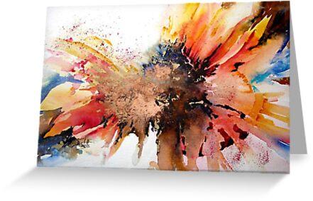Wacky Sunflower  by Bev  Wells