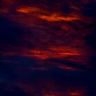 Dark And Dramatic. A Summer Sunset. by Darren Burroughs