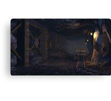 A dwarven mine Canvas Print