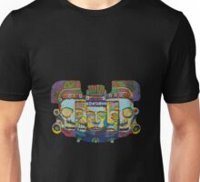 Mayan Mask of Death and Rebirth 2011 as tshirt Unisex T-Shirt