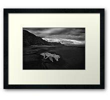 Western Drift Framed Print