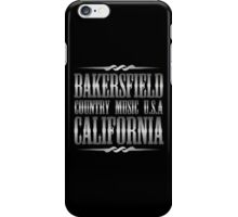 Silver Bakersfield Country iPhone Case/Skin