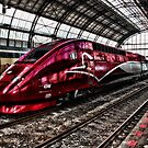 HighSpeed Thalys Amsterdam by Bob Martin