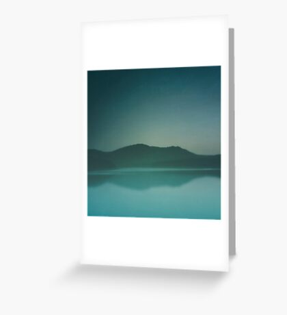 Lakeside Drive Greeting Card