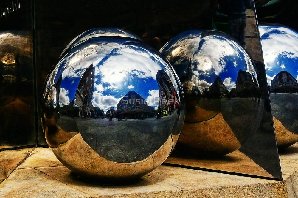 Reflections of Exeter by Susie Peek