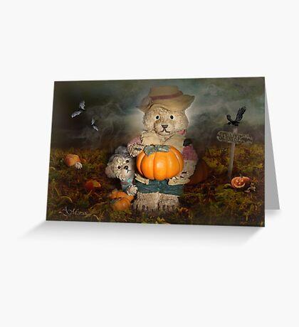 Pumpkin Thief Greeting Card