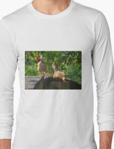 A Poultry Pair Long Sleeve T-Shirt
