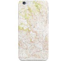 USGS Topo Map Oregon Drewsey 282428 1968 62500 iPhone Case/Skin