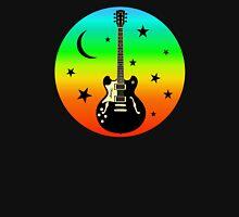 Colorful Guitar,Moon,Stars Hoodie