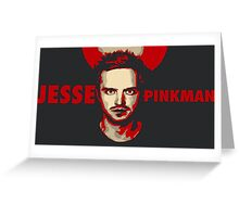 Jesse pinkman artwork Greeting Card