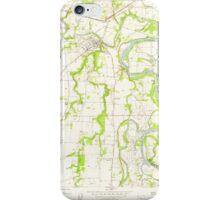 USGS Topo Map Oregon Dayton 279572 1957 24000 iPhone Case/Skin