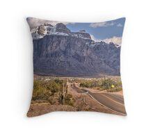 Superstitions - Apache Junction, AZ Throw Pillow