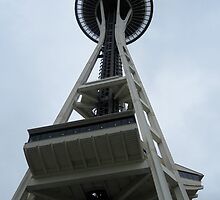 Unusual Perspective of the Seattle Space Needle by kdeppen