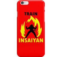 Train Insaiyan IV iPhone Case/Skin