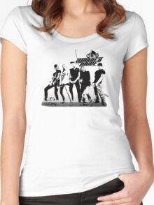 WARNER DRIVE - LIVE CURRENT series Women's Fitted Scoop T-Shirt