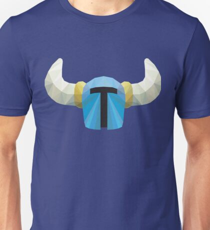 Low Poly Shovel Knight Unisex T-Shirt