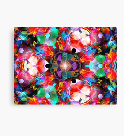 Three Layer Guinea Pig Abstract  (UF0412) Canvas Print