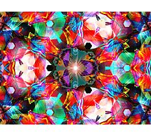 Three Layer Guinea Pig Abstract  (UF0412) Photographic Print