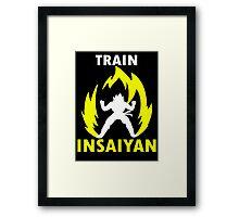 Train Insaiyan V Framed Print