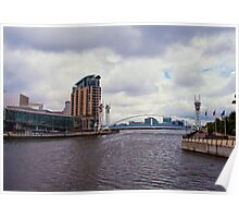 Lowry Bridge Poster