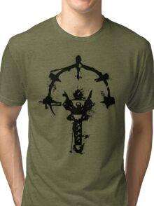Splattered Dungeon Tri-blend T-Shirt