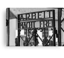 Dachau Gate Canvas Print