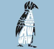 penguin wa wa wa Kids Tee