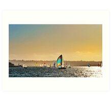 Sail Sail Art Print