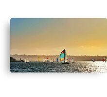 Sail Sail Canvas Print