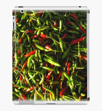 SPICY CHILIES iPad Case/Skin
