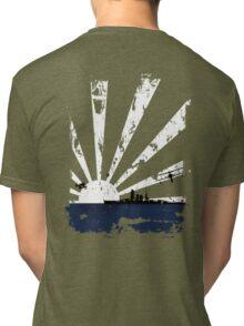 IJN White Sun Tri-blend T-Shirt