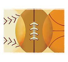 Sports Photographic Print