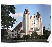 Cathedral of the Roman Church, Malang Poster