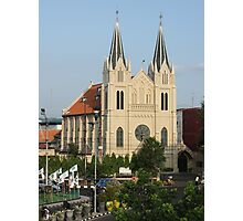 Cathedral of the Roman Church, Malang Photographic Print