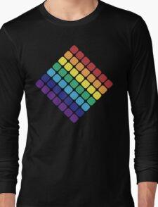 Rainbow Diamond Long Sleeve T-Shirt