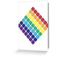 Rainbow Diamond Greeting Card