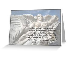Angels' Footsteps Greeting Card