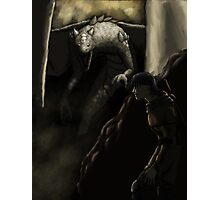 Young Dragon Slayer Photographic Print