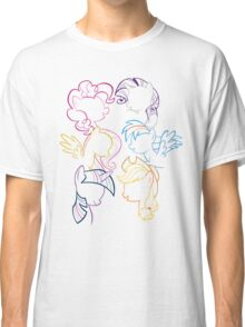 Main 6 Group Outline Classic T-Shirt