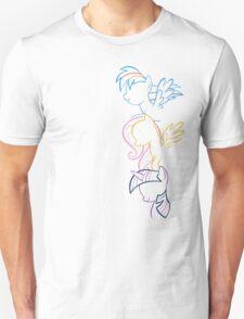 RDB, Fluttershy & Twilight (Left) T-Shirt